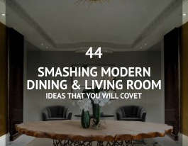 44 Smashing Dining Living Room Ideas