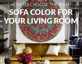 How to Choose The Right Sofa Color For Your Living Room