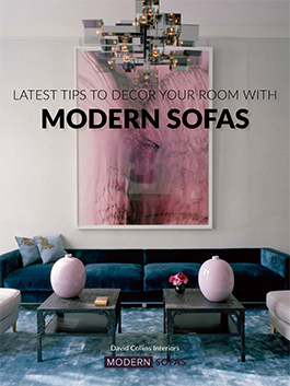 The latest ideas to decorate any room with modern sofas. Take a look!