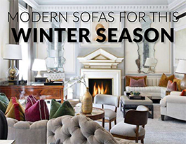 Modern Sofas for This Winter Season