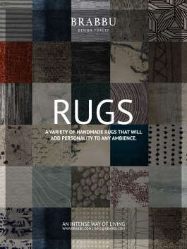 A variety of handmade rugs with designs full of stories to tell, that will add a special personality to each ambience.