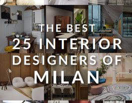 The Best 25 Interior Designers of Milan