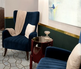 This hotel interior design in Morocco hides many stories from around the world. Starting with its pieces. DAVIS Armchair is an imposing accent chair that breathes elegance. Next to it stands GOROKA Si