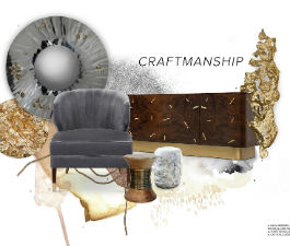 Through ancient techniques and raw materials, craftmanship is the secret to create soulful pieces.