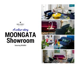 A Colour Story Moongata Showroom Featuring BRABBU